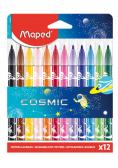 Flamastry Jungle Cosmic 12 kolorów MAPED