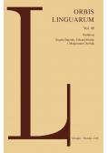 Orbis Linguarum vol 48