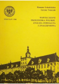 Współczesne przezwiska polskie Analiza formalna i znaczeniowa