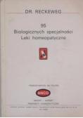 95 Biologicznych specjalności Leki homeopatyczne