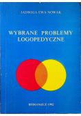 Wybrane problemy logopedyczne
