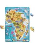 Puzzle ramkowe 53 Afryka