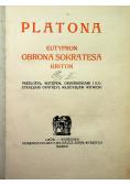 Eutyfron Obrona Sokratesa Kriton 1920 r