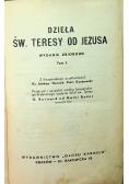Dzieła Św Teresy od Jezusa Tom I
