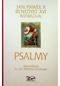 Jan Paweł II Benedykt XVI rozważają Psalmy