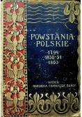 Dzieje powstania listopadowego 1830 - 1831 1910 r.