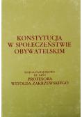 Konstytucja w społeczeństwie obywatelskim