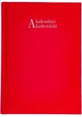 Kalendarz akademicki 2021/22 A5T Vivella czerwony