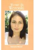 Wiersze dla Weroniki