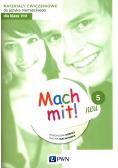 Mach mit! neu 5 Materiały ćwiczeniowe do języka niemieckiego dla klasy 8