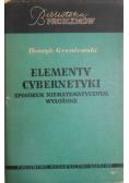 Elementy cybernetyki sposobem niematematycznym wyłożone