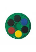 Farby akwarelowe 18 kolorów okrągłe