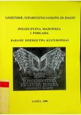 Polszczyzna Mazowsza i Podlasia Badanie dziedzictwa kulturowego