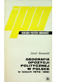 Geografia opozycji politycznej w Polsce