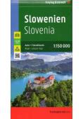 Mapa samochodowa - Słowenia 1:150 000