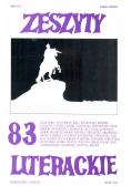 Zeszyty Literackie 83