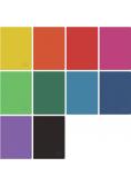 Zeszyt A4/60K kratka Rainbow Classic (5szt)