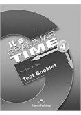 It's Grammar Time 4 Test Booklet