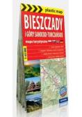 Mapa tur. - Bieszczady i Góry Sanocko-Turczańskie