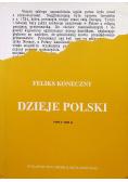 Dzieje Polski Tom 1 i 2 reprint z 1902 roku