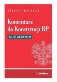 Komentarz do Konstytucji RP Art 87, 88, 89, 90, 91