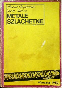 Metale szlachetne