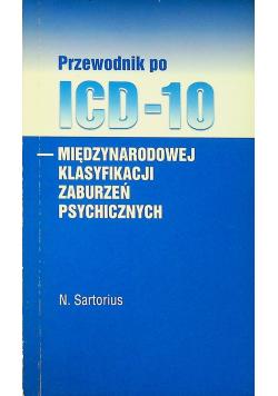 Przewodnik po ICD 10 międzynarodowej klasyfikacji zaburzeń psychicznych