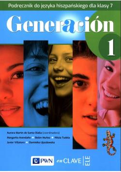 Generacion 1 Podręcznik do języka hiszpańskiego dla klasy 7