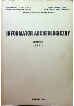 Informator Archeologiczny badania 1969