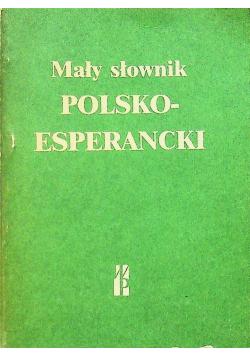 Mały słownik polsko esperancki