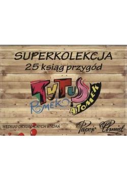 Tytus Romek i ATomek Superkolekcja 25 ksiąg przygód 23 tomy