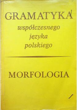 Morfologia Gramatyka współczesnego języka polskiego