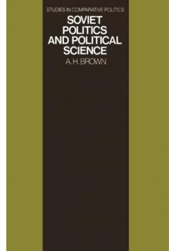 Soviet politics and political science