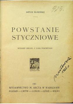 Powstanie styczniowe 1921 r