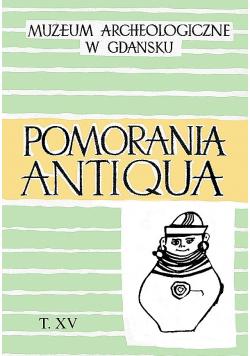 Pomorania Antiqua tom XV
