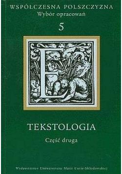 Współczesna Polszczyzna 5 Tekstologia cz 2