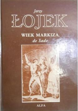 Wiek Markiza de Sade