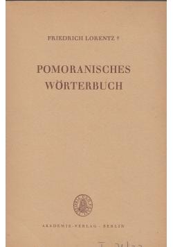 Pomoranisches Worterbuch