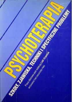 Psychoterapia Szkoły zjawiska techniki i specyficzne problemy