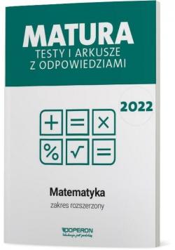 Matura 2022 Matematyka Testy i arkusze ZR OPERON