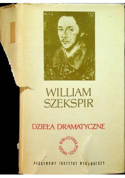 Szekspir Dzieła dramatyczne