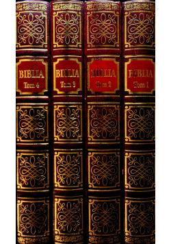 Biblia Tom I do IV