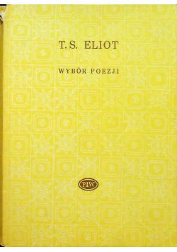 Eliot Wybór poezji