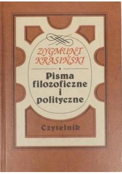 Pisma filozoficzne i polityczne