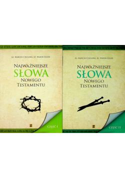 Najważniejsze słowa Nowego Testamentu Część I i II