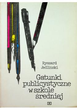 Gatunki publicystyczne w Polsce