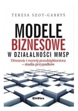 Modele biznesowe w działalności MMSP