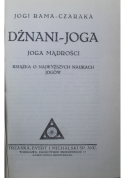 Dżnani - joga