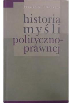 Historia myśli polityczno prawnej