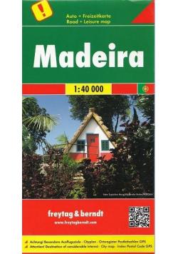 Mapa samochodowa - Madera 1:40 000